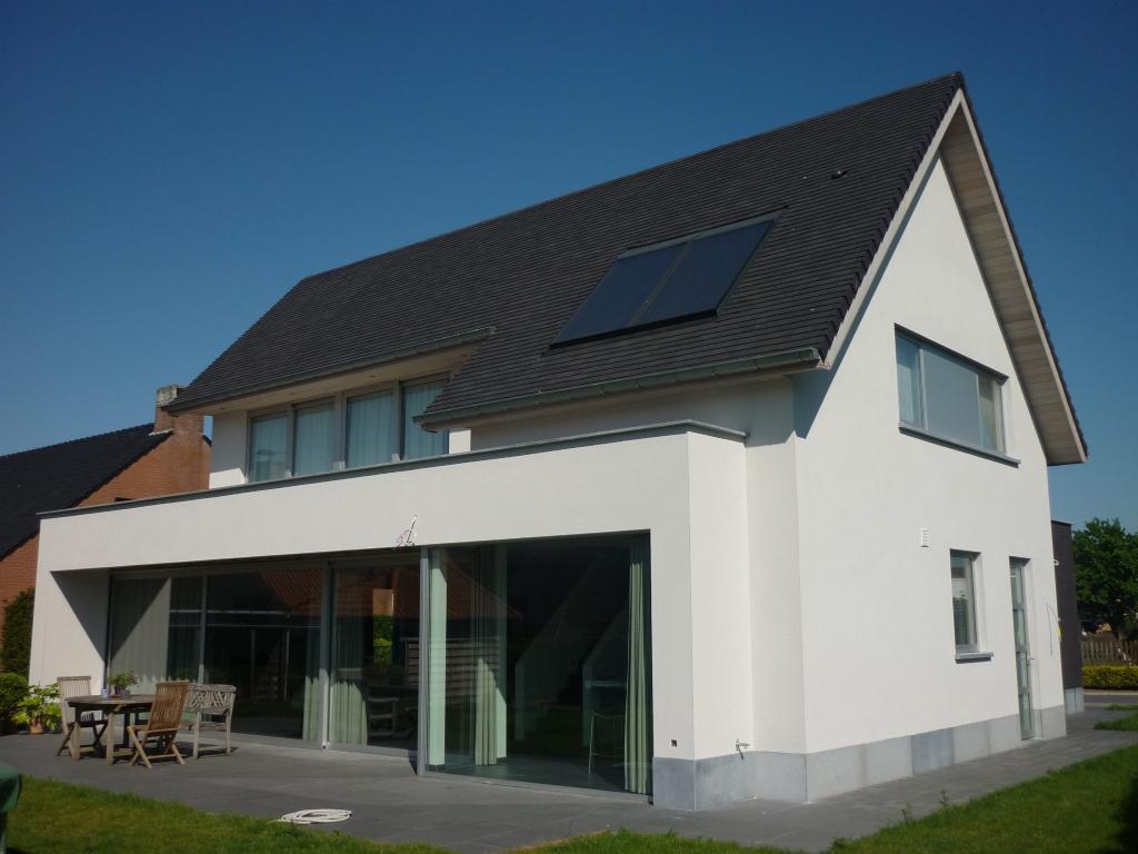 Projecten jan abbeloos ingenieur architect - Kantoor onder het dak ...