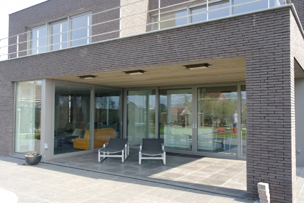 Projecten jan abbeloos ingenieur architect - Terras eigentijds huis ...