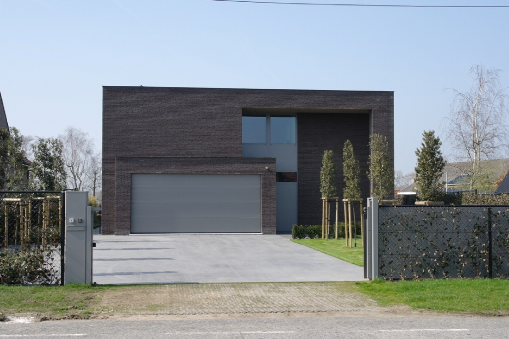 Terras Modern Huis Of Projecten Jan Abbeloos Ingenieur Architect